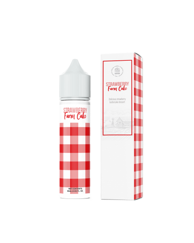 [USA] Fresh Farms - Strawberry Farm Cake 60ml 0mg