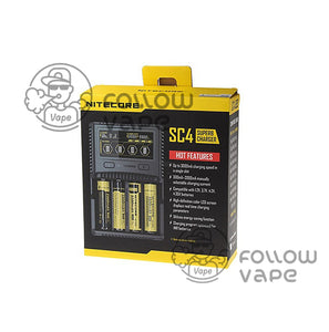 Nitecore SC4 Battery Charger