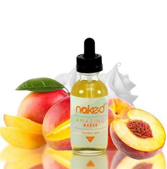Naked 100 E-liquid 60ml-Amazing Mango