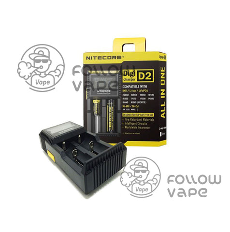 Nitecore Digi CHARGER D2 Battery Charger