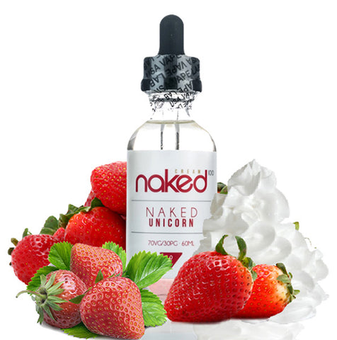 Naked 100 Eliquid 60ml-Naked Unicorn