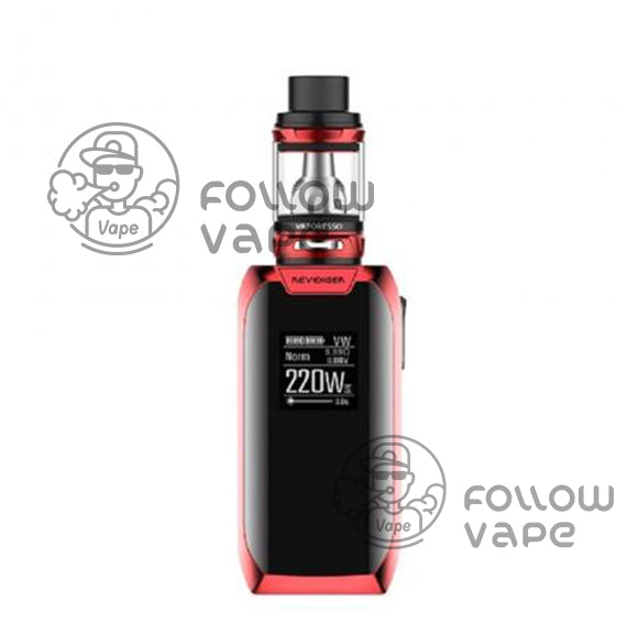 Vaporesso Revenger X 220W with NRG TC Kit red