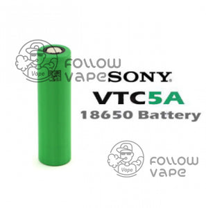 Sony VTC5A 18650 battery 2600mAh 25A