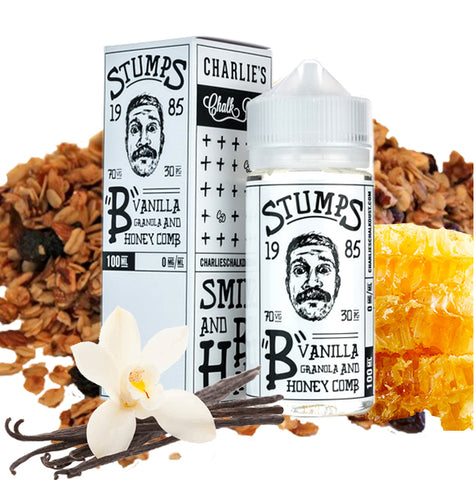 STUMPS-B- Vanilla Granola and Honey Comb