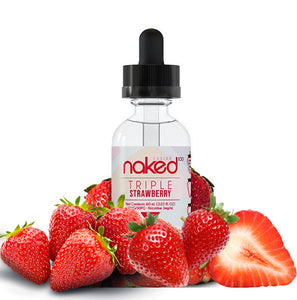 Naked 100 E-liquid 60ml- Triple strawberry