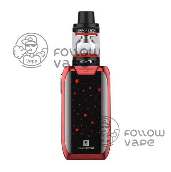 Vaporesso Revenger Mini 85W with NRG SE TC Kit 2500mAh red
