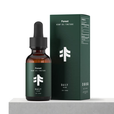 CBD Oil Day Tincture - 500mg - Forest Daily Blend