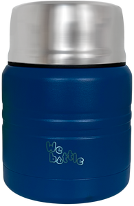 Food Jar 350ml Dark Blue