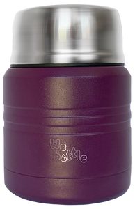 Food Jar 350ml Purple