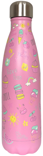 Bottle 500ml Pink Girly