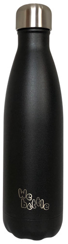 Bottle 500ml Powder Black