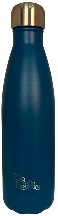 Bottle 500ml Powder Dark Blue