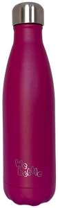 Bottle 500ml Powder Dark Pink