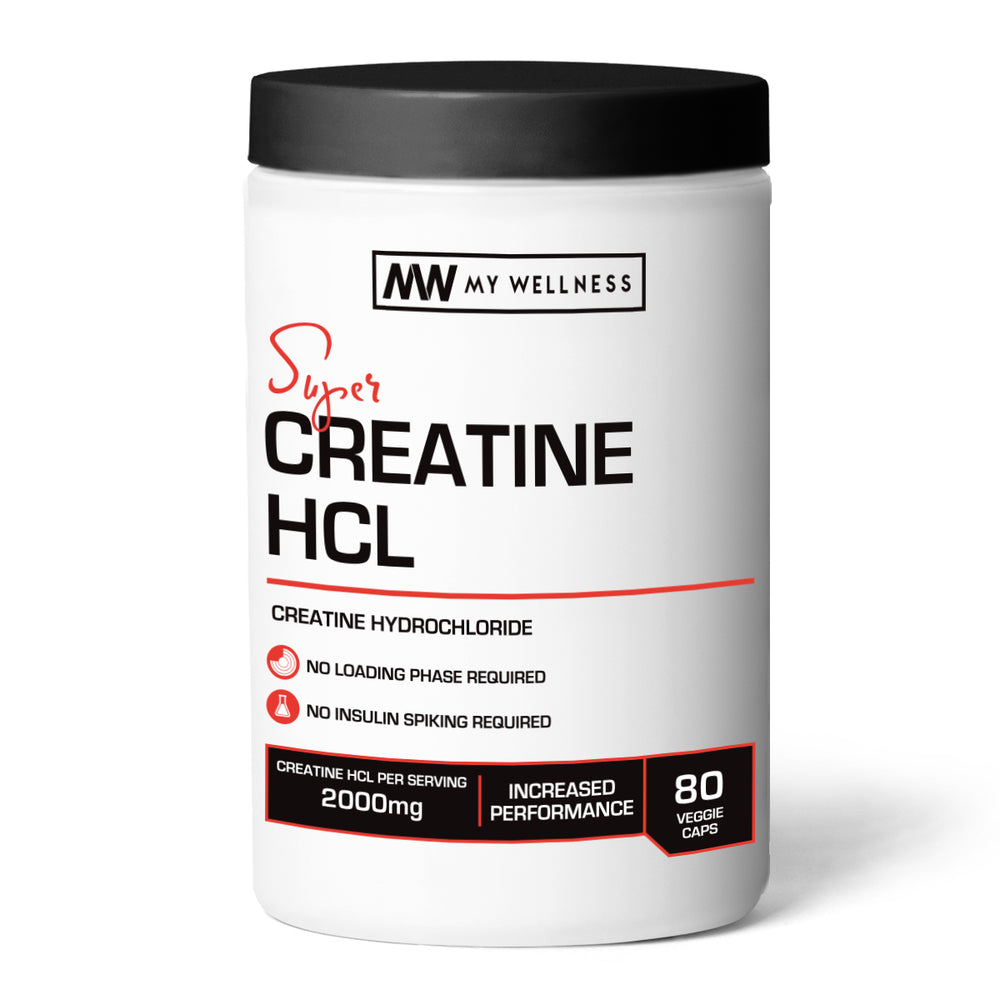 Super Creatine HCL 80 Veggie Caps