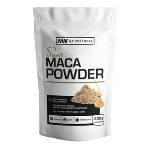 Combo Deal: Super Natures Whey 3kg + 300g Maca Root + Super Natures Whey 450g
