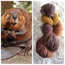 Load image into Gallery viewer, Bella BFL/Gotland Fingering The Beavers