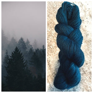 Bella BFL/Gotland Fingering Night Trees