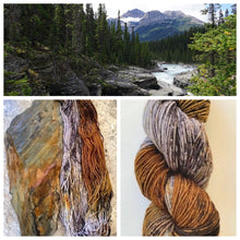 Load image into Gallery viewer, Delightful DK 75/25 Rocky Mountain Slate
