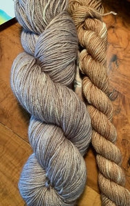 Blissful BFL Sock Set Doe/Fawn