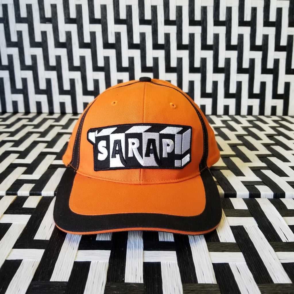 Orange & Black Dad Cap