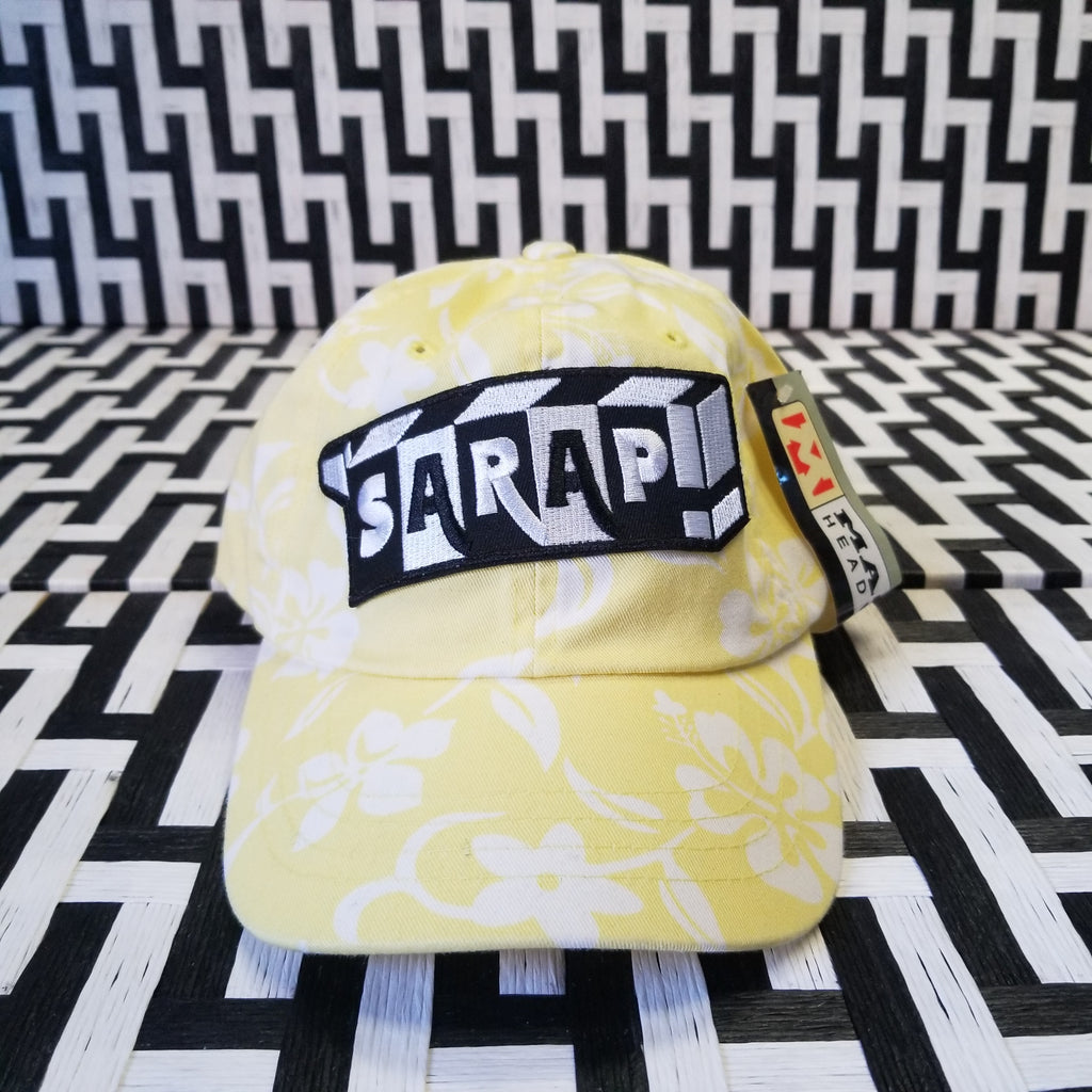 Yellow Floral Dad Cap