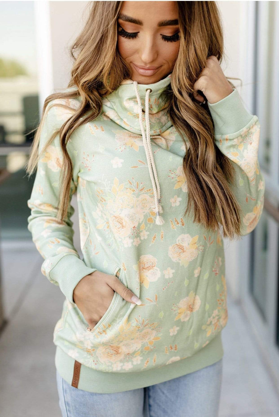 Singlehood Sweatshirt - Fascinating Floral - Hello, Sunshine Market