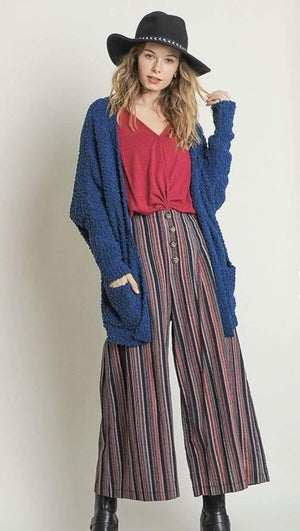 Peacock Cardigan Sweater