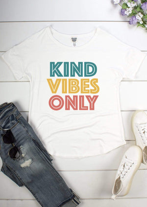 Kind Vibes Only Graphic Tee