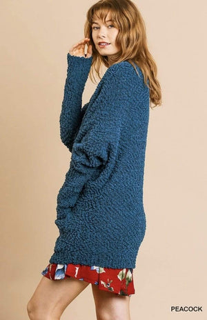 Peacock Cardigan Sweater - Hello, Sunshine Market