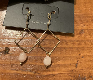Diamond Dangle Earring - Hello, Sunshine Market