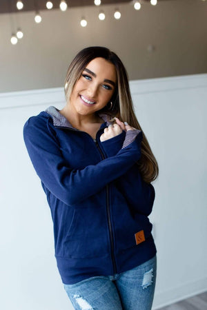 Full Zip-Navy - Hello, Sunshine Market