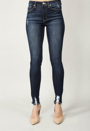 Blue High Rise Super Skinny Jean - Hello, Sunshine Market
