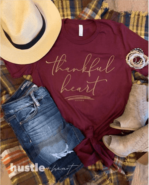 Thankful Heart Tee - Hello, Sunshine Market