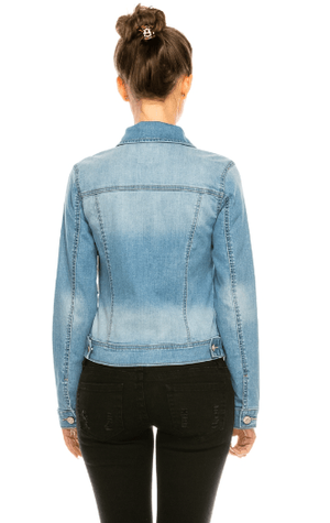 Light Basic Denim Jacket