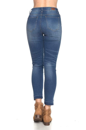 Missy Stretch Denim Crop Jeans