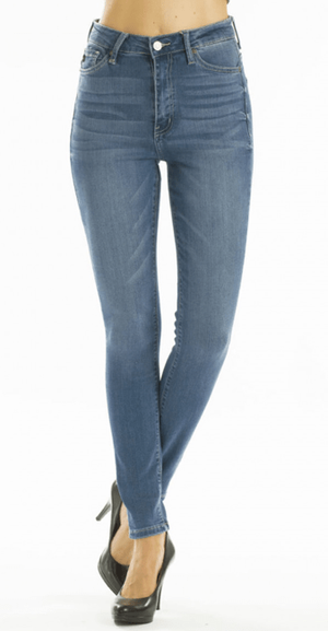 Medium Wash Stretch Skinny Jeans - Hello, Sunshine Market