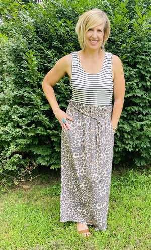 Leopard Maxi Dress - Hello, Sunshine Market