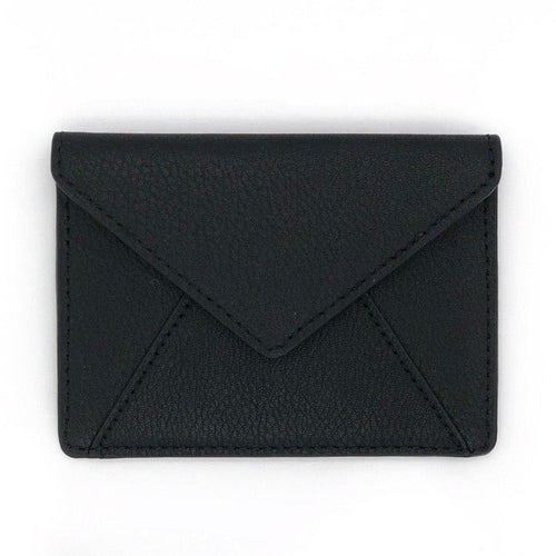 Aamu Envelope Travel Card Holder Black
