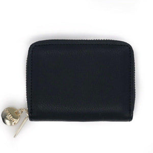 Abbetina Card and Coin Holder Black