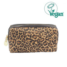 Load image into Gallery viewer, Bailee Mini Pouch Leopard Print Canvas