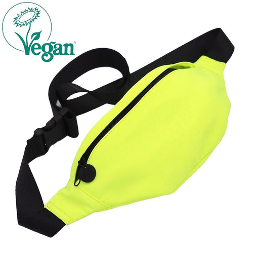 Babe Waist/Cross Body Bag Neon Yellow