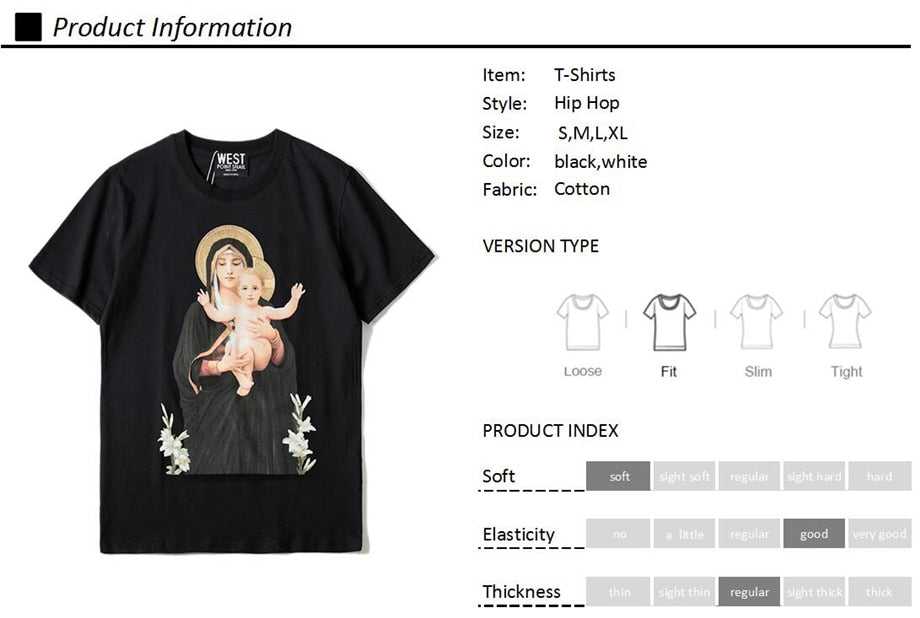 IMMACULATE GODMOTHER T-SHIRT