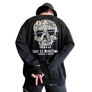 FEAR IS REACTION SWEATSHIRT
