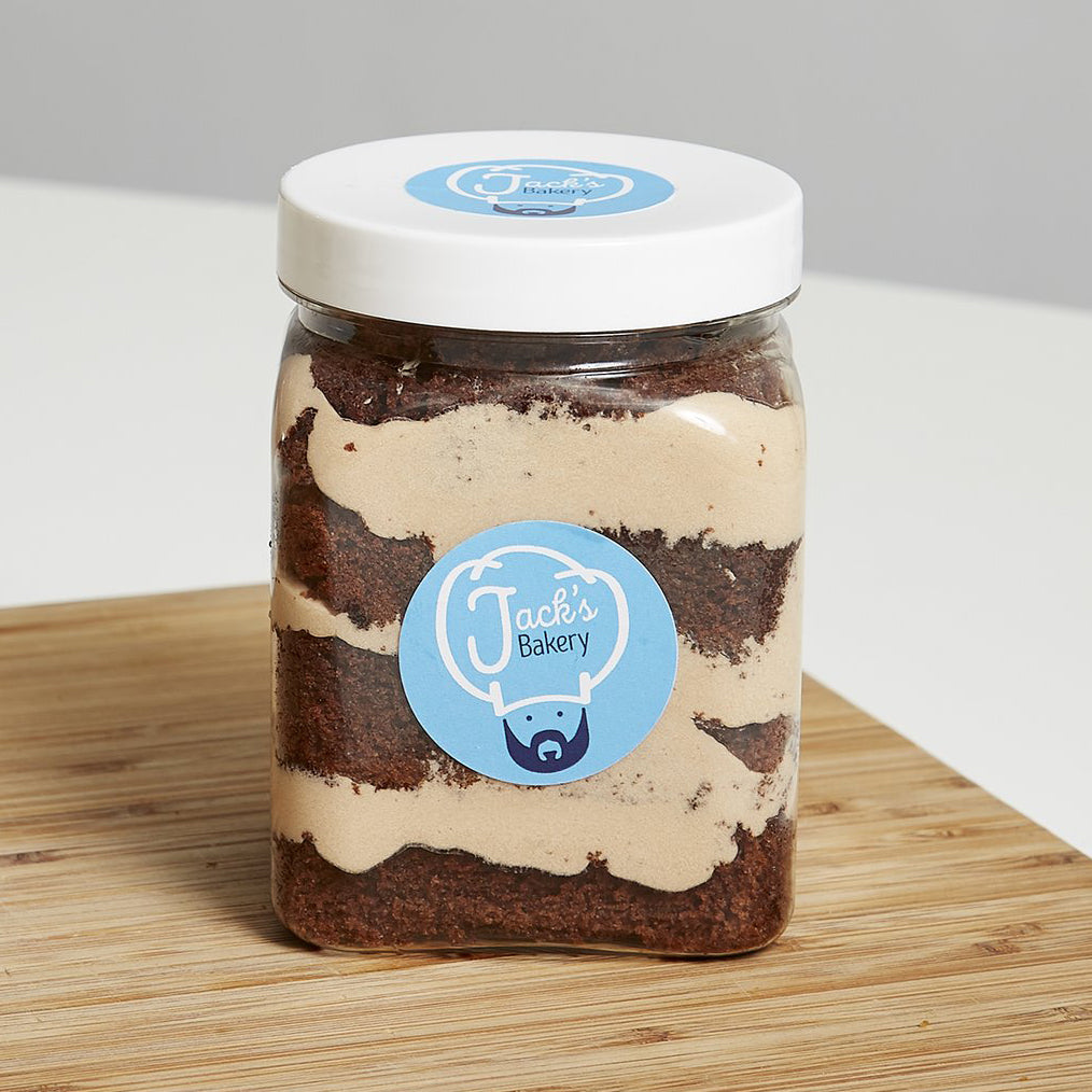 Chocolate Orange Cake Jar