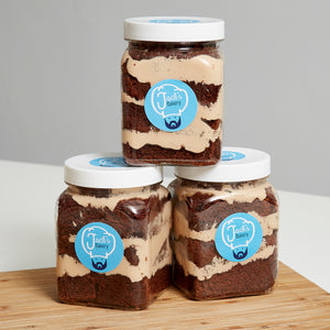 Chocolate Orange Cake Jar 3 Pack