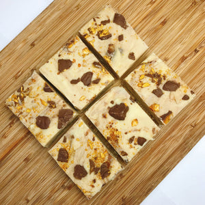 Crunchie (Honeycomb) Fudge