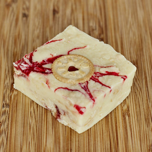 Jammie Dodger Fudge