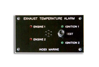Index Marine C2805 Exhaust Temperature Alarm Panel with 1 sensor