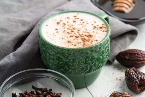 Frothy Chai Tea Collagen Latte