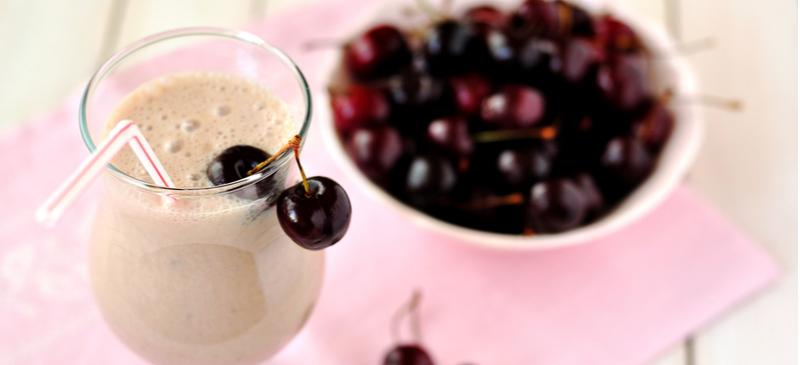 Cherry Vanilla Collagen Smoothie Recipe